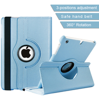 Hot 360 Degree Multi-function Leather Case for iPad Stand Adjustable Secure
