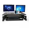 Hot adjustable work table computer stand for standing and sitting desk