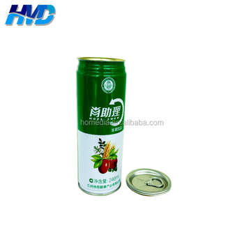 250ml beverage tin can