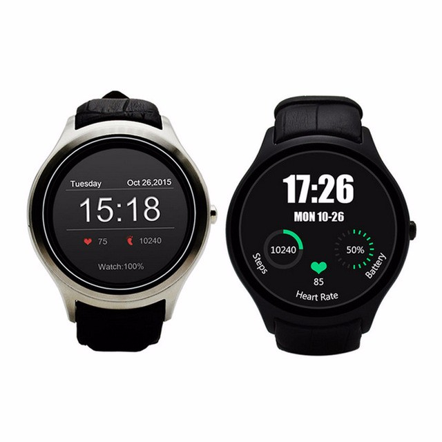 100% Original Circle 3G Android Phone Smart Watch X1 smartwatch 1.3inch IPS Android 4.4 with GPS WIFI SIM Heart rate PK K18 N10