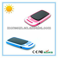 portable car solar charger for mobile phone