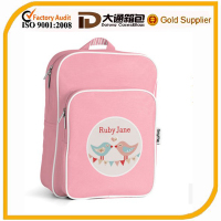 Recyclable simple nylon animal school bag
