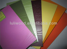 different with mdf/mdf da melamina