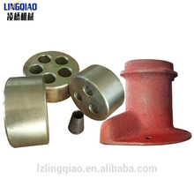Barrel wedges miba and wedge for strand wire anti