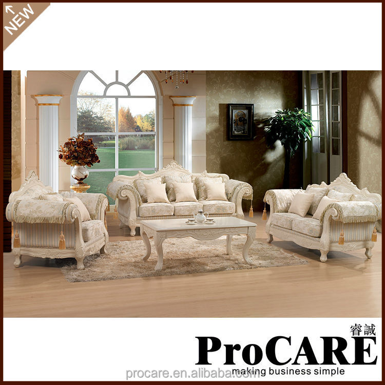 China wholesale custom drawing room sofa set
