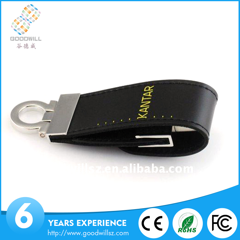 NEW arrival PU special leather usb flash drive
