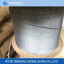 7X19 Hot-Dip Galvanized Steel Wire Rope