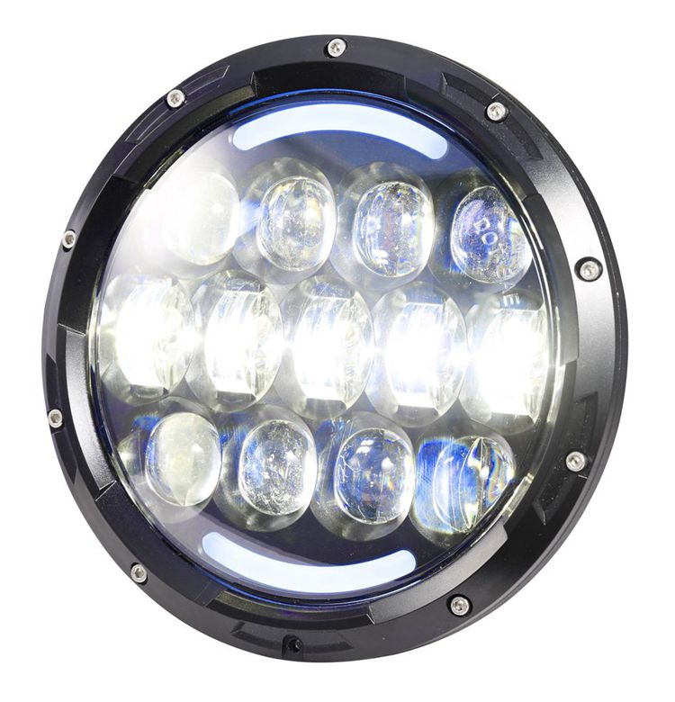 Unique 105W 7inch high low beam led headlight for Wrangler tj jk