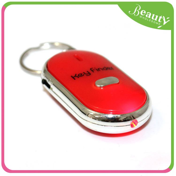 H0T140 credit card shaped rf key finder with keychain