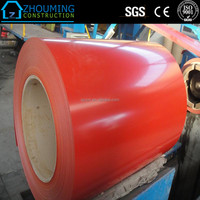 Factory metal roofing RAL red color galvalum steel coil