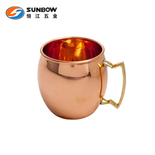 High quality 100% copper moscow mule mug
