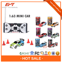 Crazy selling kids funny 4CH coke can mini rc car for sale