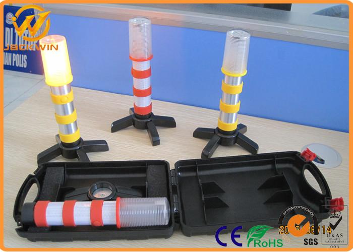 Waterproof Dry Battery Flashing Led Road Flare Traffic Warning ...