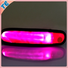 Wholesale Slap Band For Party Gift,Promotional Color Filled Wrist Band,Wristband With LED Light