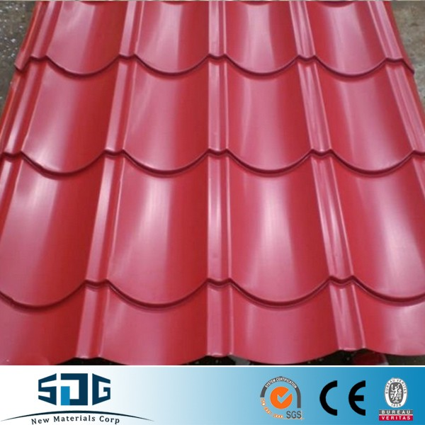 PPGI corrugated steel sheet/ roofing sheet price phillippines