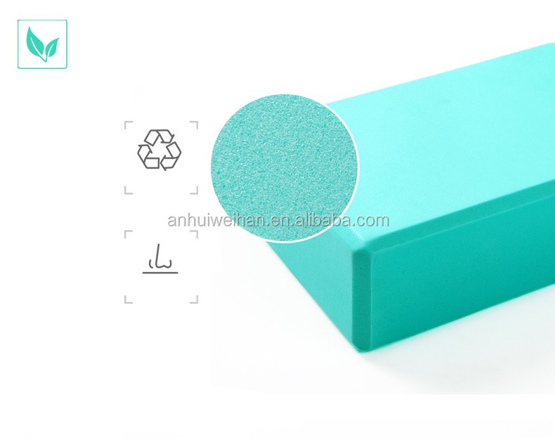 Hot newest item high density EVA foam yoga block, yoga brick