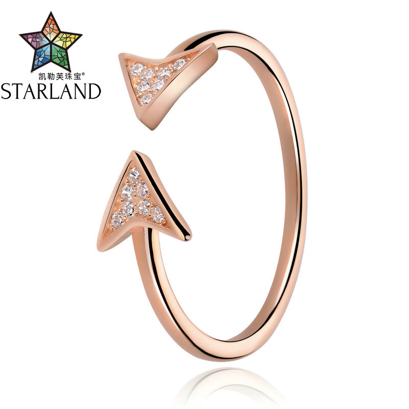 STARLAND Minimalist style 12346 Free collocation Ring Best selling Europe and America 925 sterling silver rings Jewelry Gift Gir