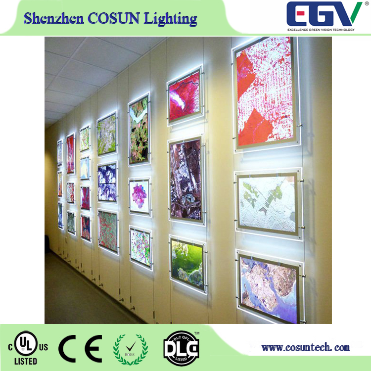 Outdoor Acrylic Signs Advertising Light Box Led Pockets Window Display Advertising Equipment