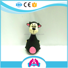 Mohua Fashionable Stocked Cheap Price Screaming Cartoon Monkey Chewy Natural Latex Rubber Toy Dog Applicaitons Cat Toy