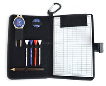 Golf Leather Organiser scorecard