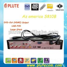 Stock Now FTA Receiver Ali3329E HD S810B Azamerica