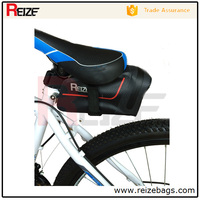 China Outdoor High Quality Durable 210D TPU Ripstop Waterproof Cycling Bike Bicycle Saddle Pouch Rear Seat Bag