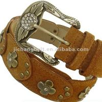 Accessory Gemstone leather belt