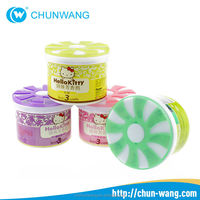 Chinese eco-friendly car air freshener long lasting solid perfume containers wholesale