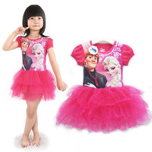 fashion cotton printed latest dress designs for kids