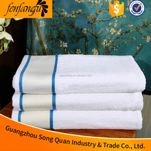 70x140cm Embroidered Hotel Bath Towel, Terry Fabric Towel Set used for Pool, Spa, Bathroom