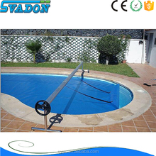 Automatic swimming pool cover tent/waterproof swimming pool cover/swimming pool bubble drain cover