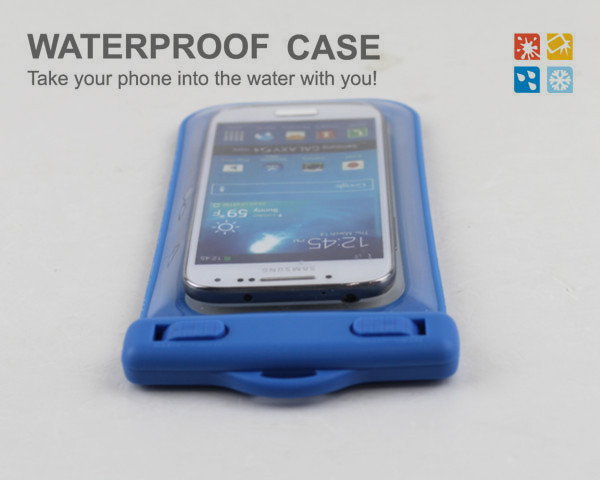Cooskin hot selling dive waterproof case for Samsung Galaxy S4 mini