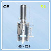 ZHONGXING brand hang / ground double use electric heating water distiller