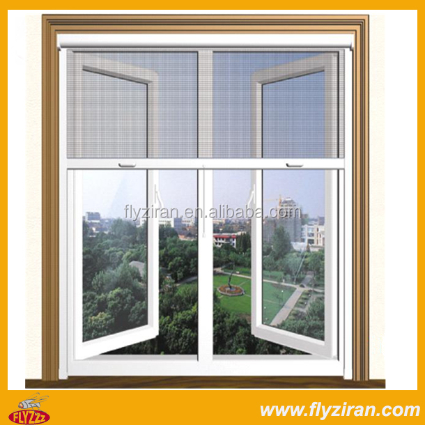 Window with grill design and mosquito net buy window for Window net design