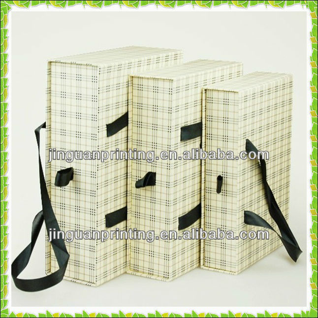 2016 Custom Decorative Book Shaped Boxes