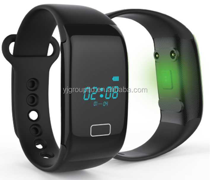 Bluetooth smart bracelet with heart rate sensor