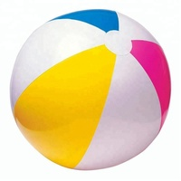 INTEX 59030 Wholesale Glossy Panel Ball Colorful Inflatable Beach Balls