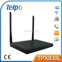 Telpo TPX820 Epon Onu For Fiber Optic Network Router White Label Router Travel Router
