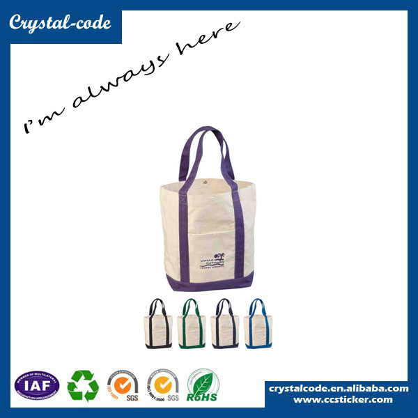 Wholesale Customized Plain White Cotton Canvas Tote Field Bag