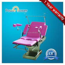Factory since 1998 with CE ISO and OEM service!portable gynecology examination chair made of stainless steel manufacturer price