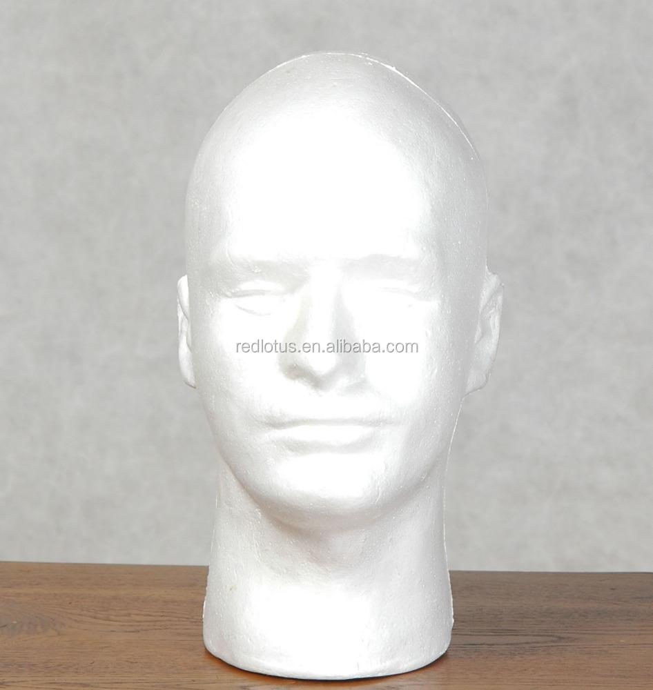 hei er verkauf m nnlichen styropor kopf mannequin produkt id 60366954002. Black Bedroom Furniture Sets. Home Design Ideas