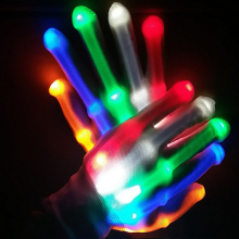 Design New Products Newest Novelty Led Flashing Gloves