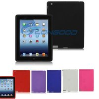 Flexible Silicone Case for New iPad iPad3