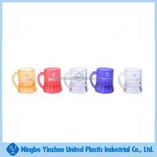 Assorted color 1.6 oz mini beer mug shots