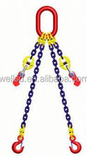 linyi factory supply Grade S6 two Legs Chocker 2 Legs Chains Slings