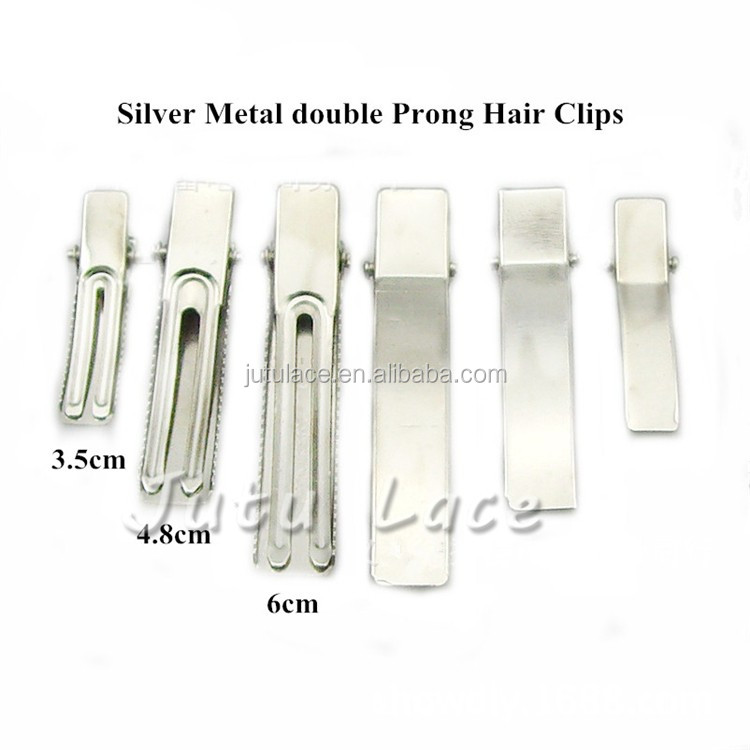 Wholesale metal alligator hair clip - single clips for DIY children hair bow/ flower headware