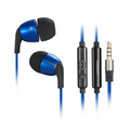 Wallytech Honeybee Metal PATENTED stereo Earphones with Microphone for Android and for iPhone