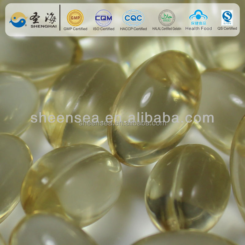 Health Food vitamin E Gelatin Capsule purify blood and protect vessels