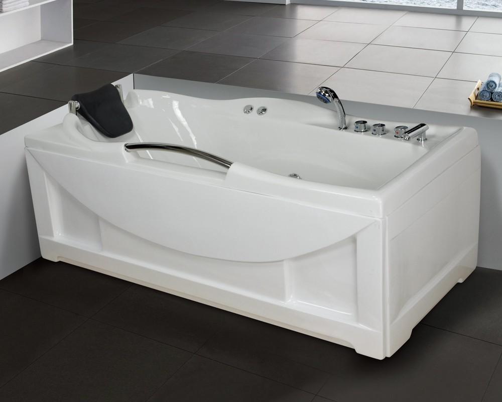Low Price Best Acrylic Bathtub With Whirlpool Jets Massage Bath ...