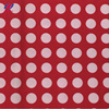Red Polka Dot Polyester Spandex Swimwear Fabric